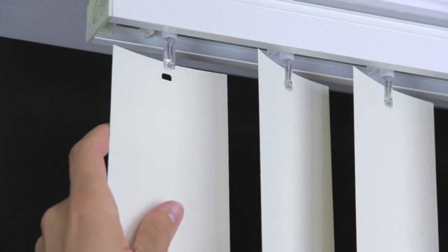 How To Replace Vertical Blinds With Curtains Easy 6 Step