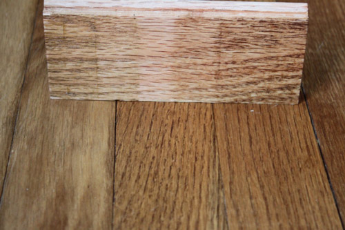 staining-the-hardwood-floors