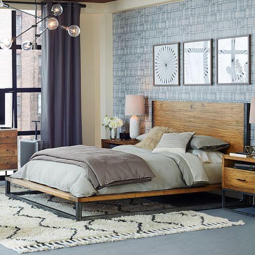 industrial-bedroom-wood