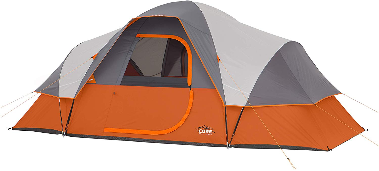 2. Core 9 Person Extended Dome Tent