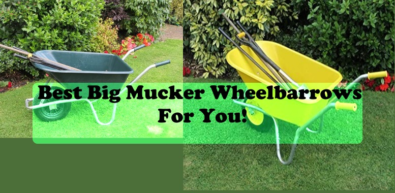 Best Big Mucker Wheelbarrows For You!