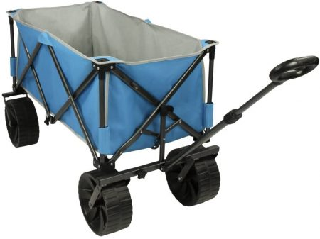 Fridani Handcart beach Trolley with Comfort Handle