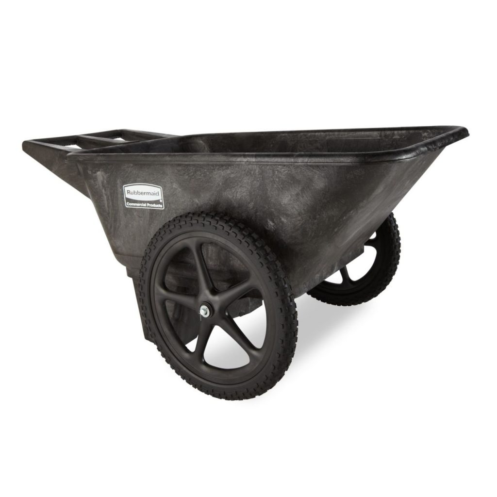 Rubbermaid Commercial Products FG56200BLA Plastic Yard Cart