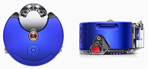 Dyson 360 Heurist Robot Vacuum (Nickel Blue)
